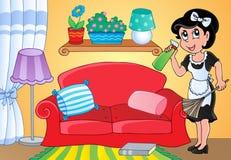 Image 2 de thème de femme au foyer Photo stock