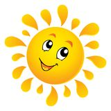 Image 3 de thème de Sun Photo libre de droits