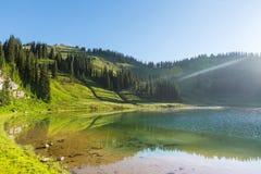 Image湖 免版税图库摄影