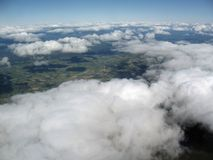 Image aérienne Photographie stock libre de droits
