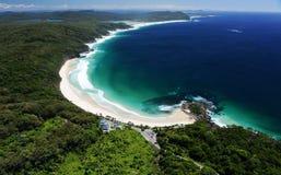 Image aérienne - côte ouest, Australie photographie stock