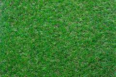 Image aérienne de vue supérieure de Tableau du fond artificiel d'herbe verte Images stock