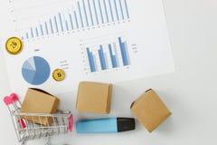 Image aérienne de vue supérieure de Tableau de fond de finances d'affaires Photographie stock libre de droits