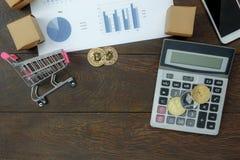 Image aérienne de vue supérieure de Tableau de fond de finances d'affaires Image stock