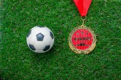Image aérienne de vue supérieure de Tableau de fond de saison du football ou de football de décoration image libre de droits