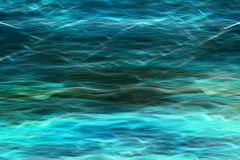 Image of abstract blue waves background Stock Images