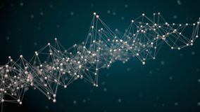 Image of Abstract network concept. Image of 3d Abstract network Stock Images