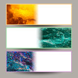 Image abstract  set of background for cards. Stock Photo