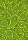 The image of abstraction, cucumber. Stock Photography