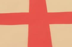 Image abstraite d'un fragment d'un drapeau du pays européen Images libres de droits