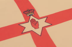 Image abstraite d'un fragment d'un drapeau du pays européen Photographie stock
