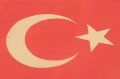 Image abstraite d'un fragment du drapeau de la Turquie photo stock