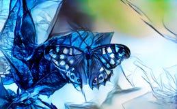 Image abstraite d'un papillon Image stock