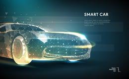 Image abstraite d'une automobile illustration libre de droits