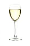 Image abstraite d'une glace de vin Images stock