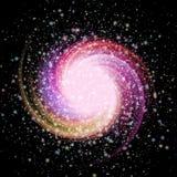 Image abstraite d'une supernova Photos stock