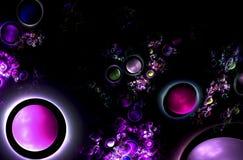 Image abstraite de fractale Photos libres de droits