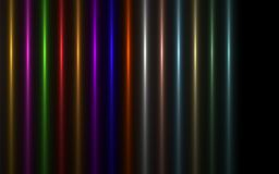 Image abstraite de fusée d'éclairage d'éclat du soleil illustration de vecteur