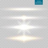 Image abstraite de fusée d'éclairage positionnement Photo libre de droits