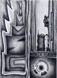 Image abstraite des cadres illustration de vecteur