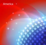 Image abstraite du drapeau des Etats-Unis Photos libres de droits