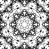Image abstraite noire et blanche de modèle photo stock