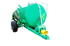 The image of agricultural machine Royalty Free Stock Photo