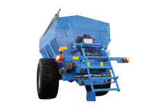 Image of agricultural machine Stock Image