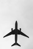 Image of airplane in sky royalty free stock photos