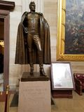 Andrew Jackson Statue in the US Capital Rotunda Stock Photos