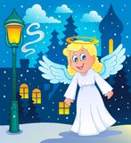 Image with angel 2 Royalty Free Stock Images