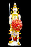 Image of angel in Thai style molding art Royalty Free Stock Photography
