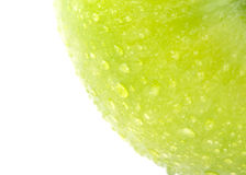 Image of apple fruit with water drops Royalty Free Stock Photo