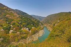 Image of Arashiyama Of Spring. An Image of Arashiyama Of Spring Stock Photos