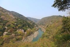Image of Arashiyama Of Spring. An Image of Arashiyama Of Spring Stock Photo