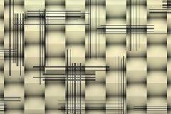 Image architecturale des cubes 3d blancs avec des ombres illustration libre de droits