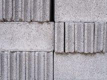 Image of arranging of block brick. Close-up image of arranging of block brick Royalty Free Stock Photography