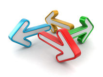 Image of Arrows up Royalty Free Stock Photos
