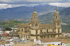 Jaen Cathedral Stock Photo