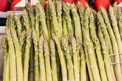 Asparagus. Image of asparagus at street market Stock Image