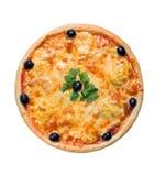 Image au sujet de pizza et de cuisine italienne Photos libres de droits