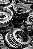 Automobile gear assembly. Image of automobile gear assembly Royalty Free Stock Images