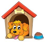 Image avec le thème 1 de chien Images libres de droits