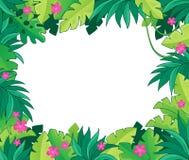 Image avec le thème 1 de jungle Photos stock