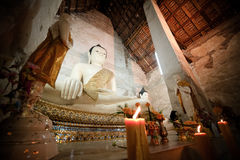 Image Ayutthaya Thaïlande de Bouddha Images stock