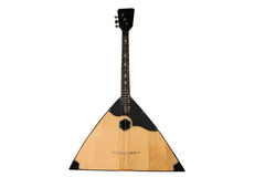 The image of balalaika stock photography