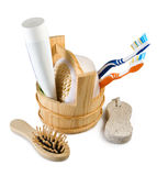 Image of bath accessories Royalty Free Stock Photo