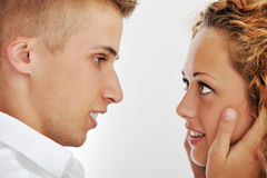 Image of a beatiful young couple Stock Photography