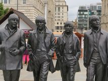 Beatles on Tour royalty free stock photography