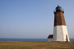 Image of beautiful lighthouse in Rhode Island Stock Photos
